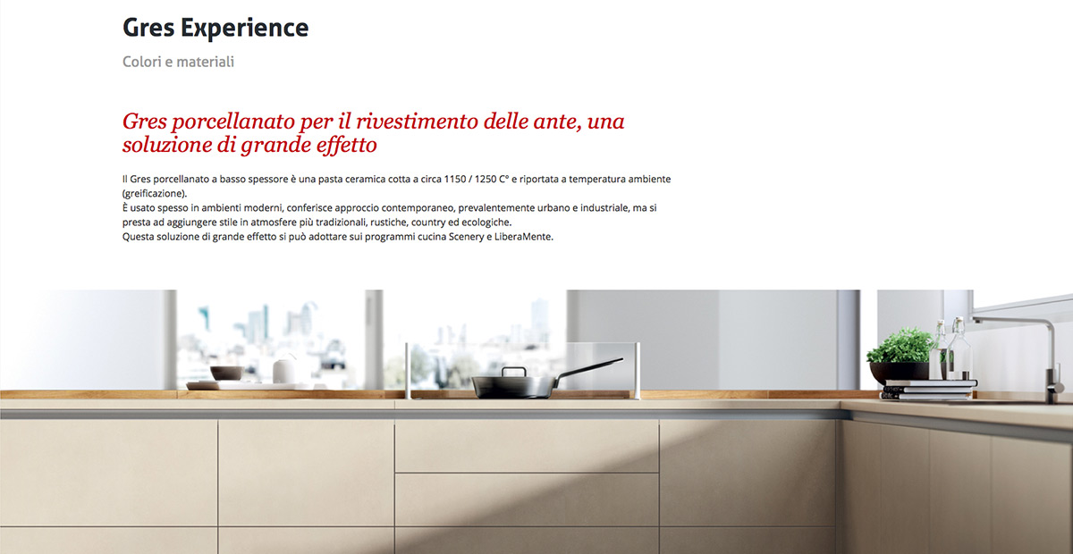 Sito Scavolini by websolute